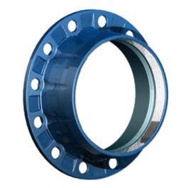 AVK 05 Gietijzer Combyflens DN50x63mm PN10/16 blauw