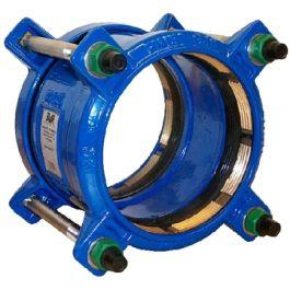 AVK 621/61 GY SUPA PLUS Koppeling 50mm blauw