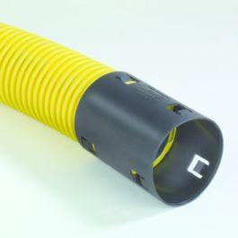 PE Kabelbeschermingsbuis 63x6,0mm geel R=25m