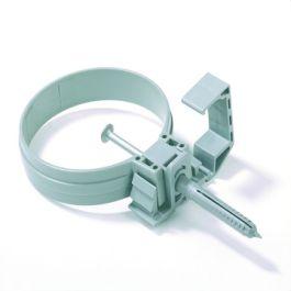 PVC KPA beugel 70mm grijs