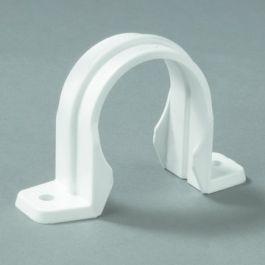 PVC Omegazadel 32mm wit