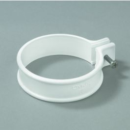 PVC Ophangbeugel HWA 80mm wit