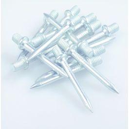 ELVZ staal Spijkerpunten M6 x 40mm doos à 100 stuks