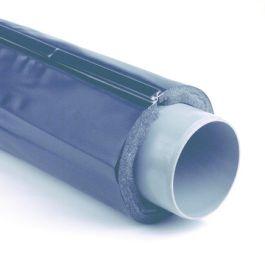 Dykasol PVC akoestische afvoerleiding isolatie 40mm antraciet L=1m
