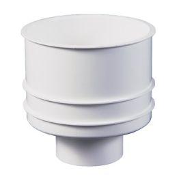 ABS Buitenpot onderuitloop 50mm wit