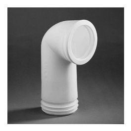 Evathane Closetafvoerbocht nr. 303 C 100-110mm wit L=180mm