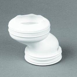 Evathane Closetafvoermanchet nr. 5 100-110mm wit