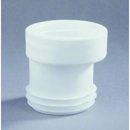 Evathane Closetafvoermanchet nr. 7 100-110mm wit