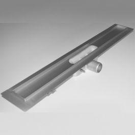 RVS Douchegoot zonder rooster vloerflens 785x90mm