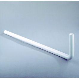 PVC Vloerbuis 32mm wit L=760mm