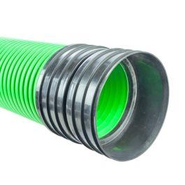 Ultra Kyma PP Buis DN300mm SN8 mof/spie groen L=6m