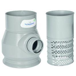 Nyloplast PVC Onderbak 10l met filter 315x125mm H=500mm