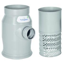 Nijloplast PVC Onderbak 17l met filter 315x125mm