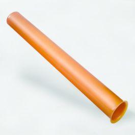PVC Eindbuis 60mm klikmof+flens L=1m