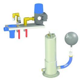 DBS-3 systeem met dompelpomp