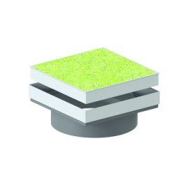 Varitank dekselset vierkant grasdekesel