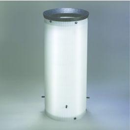 PE Korffilter 315mm wit