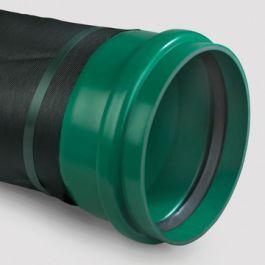 PVC IT Buis met geotextiel KOMO SN8 200x5,9mm groen L=5m