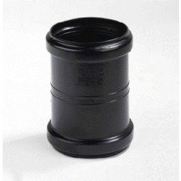 PP Expansie steekmof 80mm 2x mof zwart