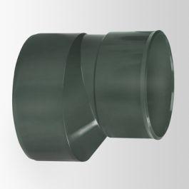 DYKA AIR Verloop excentrisch 160x125mm spie/ lijmmof groen