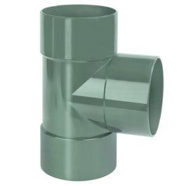 DYKA AIR T-stuk 125mm 3x lijmmof 90° groen