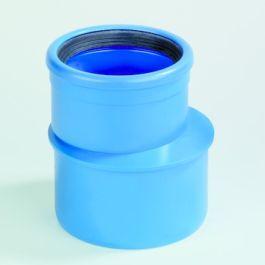 DykaSono PVC Verloop 75x50mm mof/spie blauw