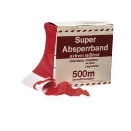 Markeringslint rood/wit R=500m