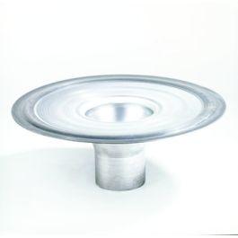 Aluminium kiezelbak model M 100mm