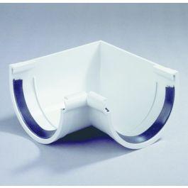 PVC Binnenhoekstuk 120mm grijs