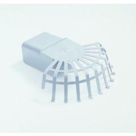 HWA PVC Bladvanger model U 60x80mm grijs