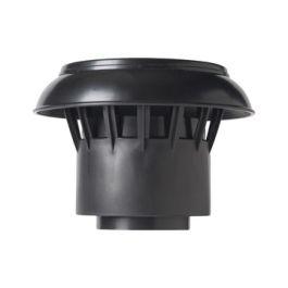 PP Bovenkap tbv DW Vent-Alu 50-60mm zwart