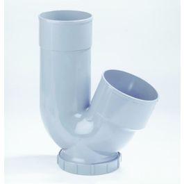 PVC HWA sifon ø 100 x110mm mof/ lijmmof grijs