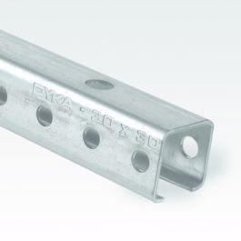 Vacurain Fix Montagerail 30x30mm L=5m