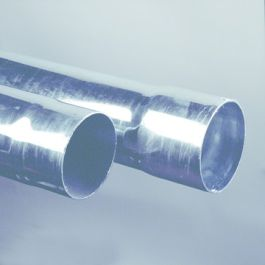 THVZ staal Ondereind 80mm mof/ spie L=2m