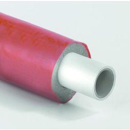 Henco Alupex Sandwichbuis 6mm voorgeïsoleerd 16x2,0mm rood R=100m