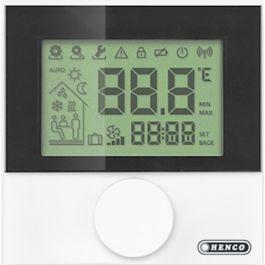 Hencofloor Thermostaat RF digitaal met weekprogramma draadloos