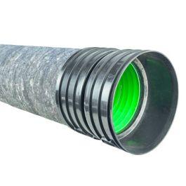 Ultra Kyma PP IT Buis DN300mm met PP450 SN8 mof/spie groen L=6m