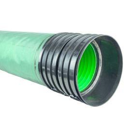 ULTRA KYMA PP IT Buis DN300mm met geotextiel SN8 mof/spie groen L=6m