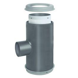 Duborain PE Centrale filterunit inclusief filter 400x250mm zwart
