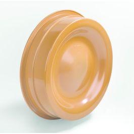 PVC Kombikap 315mm roodbruin