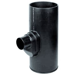 PE Onderbak 315x125mm zwart H=700mm