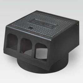 Gietijzer Trottoirkolkkop TDS B125 315mm zwart