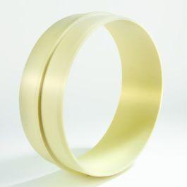 PVC Universele stelring 315mm crème H=110mm