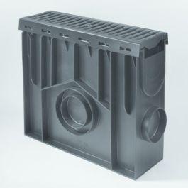 PE/PP Zandvanger Pro incl. kunststof rooster 438mm L=0,5m