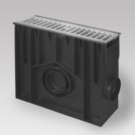 PE/PP Zandvanger Standard inclusief RVS rooster 419mm L=0,5m