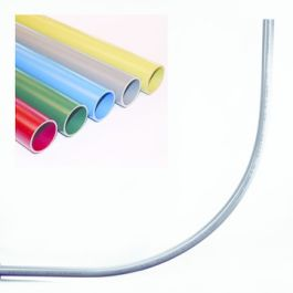 PVC Invoerbocht tbv CAI 50mm groen L=2800mm R=500mm