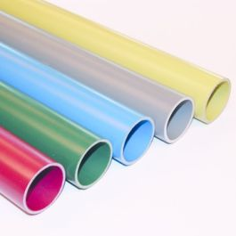 PVC buis tbv invoerbocht 50mm grijs