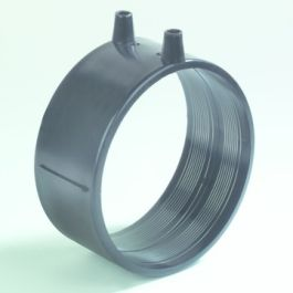 PE Elektrolasmof afvoer 40mm zwart