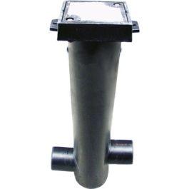 PE Monsternameput voor vetafscheider 160x110mm zwart H=1100mm