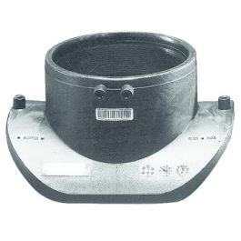 PE100 Aanboorzadel Top Loading 200x160mm mof zwart